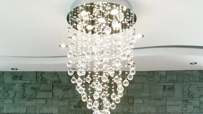 Luxury light fittings