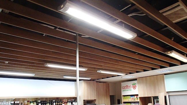 Montovaný strop